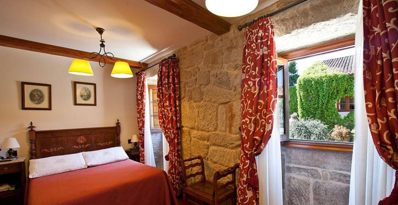 Habitaciones Casa Rural - Casa Grande La Almuiña