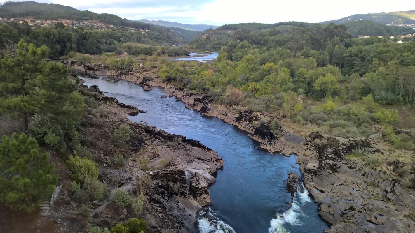 Río Miño en Arbo