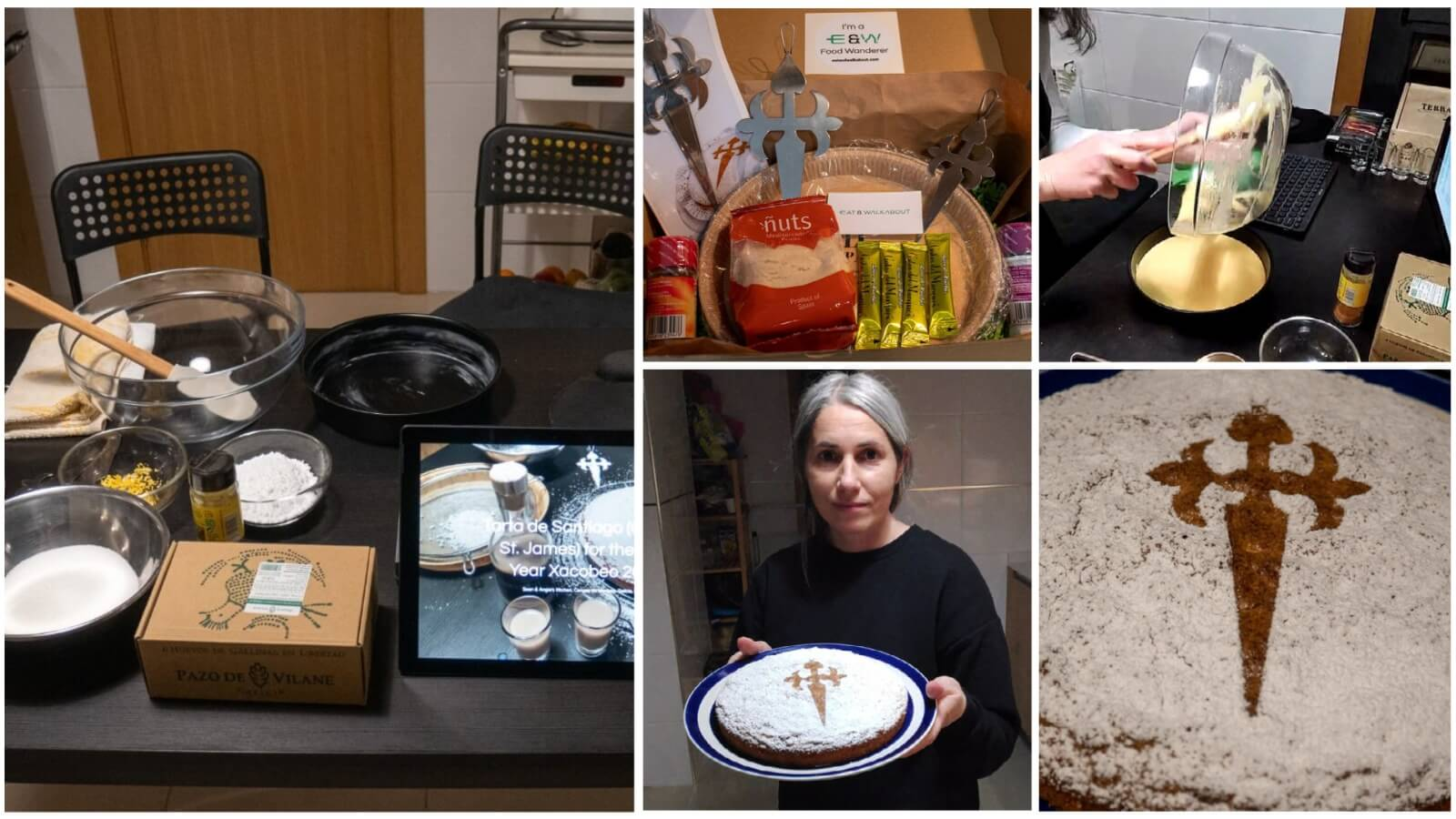 The Santiago Cake: The Oldest Traditional Recipe of Galicia - Online Cooking Class