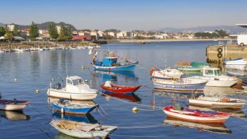 Live Virtual Walking Tour of Cangas do Morrazo: Fishing Port & Market